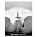 USS ATLANTA Small Poster