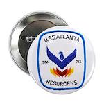 """USS ATLANTA 2.25"""" Button"""