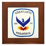 USS ATLANTA Framed Tile