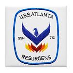 USS ATLANTA Tile Coaster