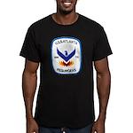 USS ATLANTA Men's Fitted T-Shirt (dark)