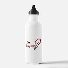 Cute Island girl Water Bottle
