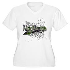 MacManus Tartan Grunge T-Shirt