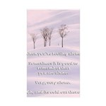Cold Out There Sticker (Rectangle 50 pk)