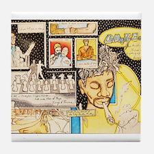 Guru and the Gangster Tile Coaster