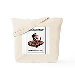 Dangerous Rattlesnake Poster Art Tote Bag