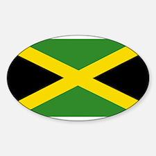 Jamaican Flag Decal