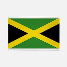 Jamaican Flag Rectangle Magnet