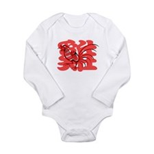 Chinese Rooster Onesie Romper Suit