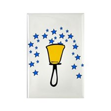 Star Fountain Rectangle Magnet (10 pack)