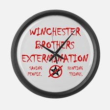 Winchester Brothers Large Wall Clock