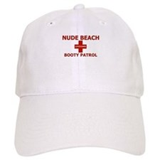 Nude Beach Lifeguard Baseball Cap