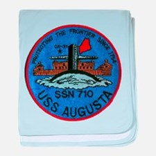 USS AUGUSTA baby blanket