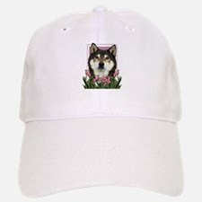 Mothers Day - Pink Tulips Baseball Baseball Cap