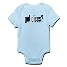 got discs? Infant Bodysuit