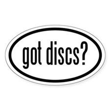got discs? Decal