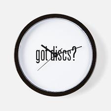got discs? Wall Clock