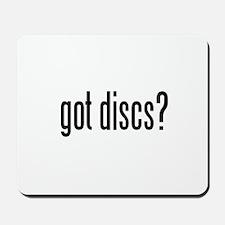 got discs? Mousepad