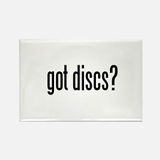 got discs? Rectangle Magnet