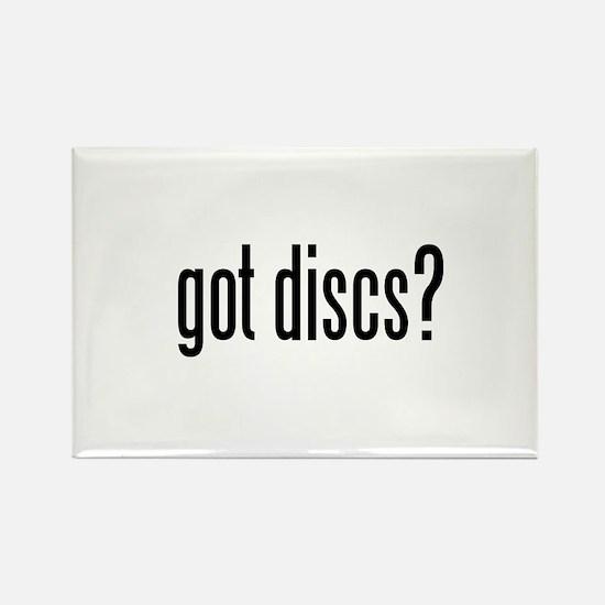 got discs? Rectangle Magnet