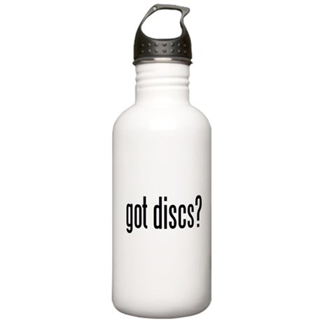 got discs? Stainless Water Bottle 1.0L