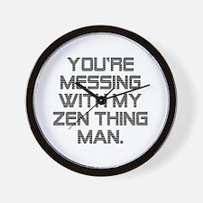 Zen Thing Wall Clock