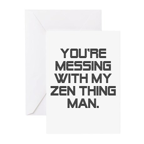 Zen Thing Greeting Cards (Pk of 10)