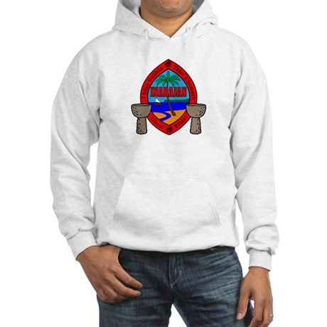 Guam Seal Hooded Sweatshirt