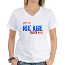 Stop The Ice Age Pollute More Shirt