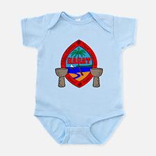 Guam Seal Infant Bodysuit