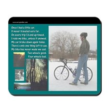 Bicycle Commute Mousepad