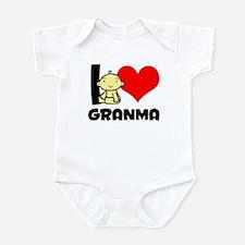 I Heart Grandma Infant Bodysuit