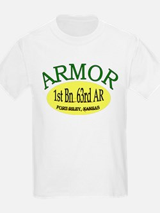 1st Bn 63rd Armor T-Shirt