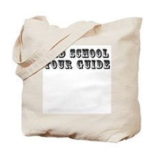 Old School Tour Guide Tote Bag
