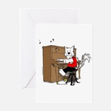 Catoons™ Piano Cat Greeting Cards (Pk of 20)