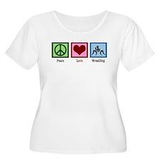 Peace Love Wrestling T-Shirt