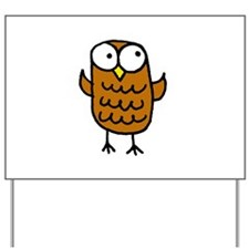 Maggie's Owl Yard Sign