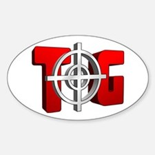 TOG Oval Decal