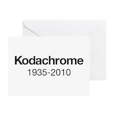 Kodachrome 1935-2010 Greeting Cards (Pk of 10)