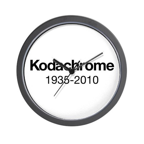 Kodachrome 1935-2010 Wall Clock