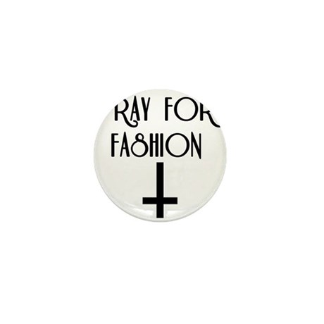 Pray for Fashion Mini Button (10 pack)