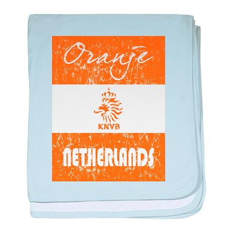 NETHERLANDS WORLD CUP 2010 baby blanket