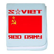 Soviet Red Army Flag baby blanket