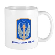SSI - 166th Aviation Brigade with Text Mug