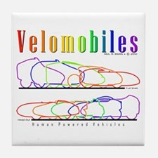 Velomobile Tile Coaster