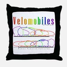 Velomobile Throw Pillow