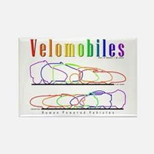 Velomobile Rectangle Magnet
