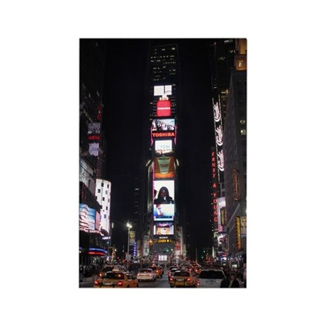 Times Square Rectangle Magnet