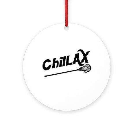 ChilLAX Ornament (Round)