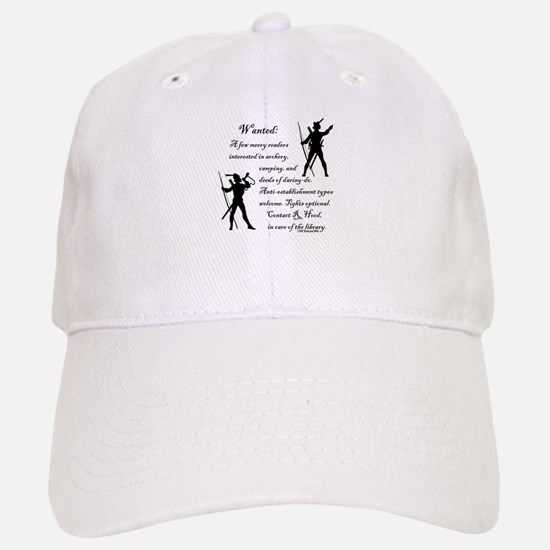 Wanted: A few merry readers.. Baseball Baseball Cap